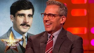 Steve Carell Grew a 70's Porno-stache To Look Tough | The Graham Norton Show