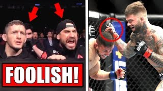 Ex-coach slams Cody Garbrandt's cornermen! - Cody back in the gym! - Ben Askren calls out Usman