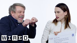 The Last Jedi Cast Answer the Web