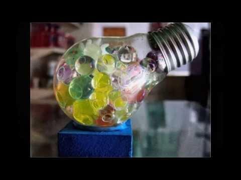 Recicla diapositivas 20 ideas para reciclar bombillas