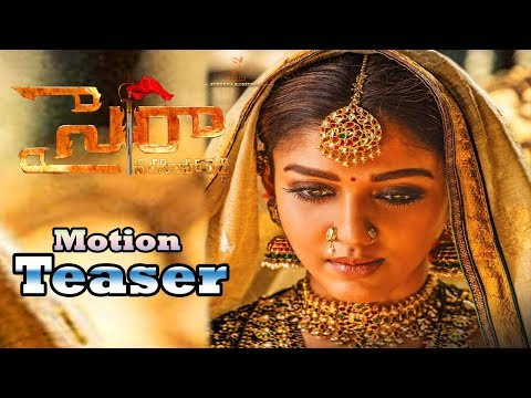 Xxx Mp4 Nayanthara Motion Teaser In Chiranjeevi Sye Raa Nayanthara Official First Look In Syeraa Get Ready 3gp Sex