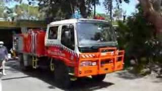 Bundeena Bush Fire Brigade Callout