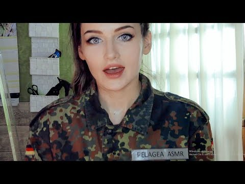 Xxx Mp4 ASMR A MILITARY GIRL Gives You A MILITARY HAIRCUT MEASUREMENTS For Your New UNIFORM 3gp Sex