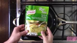 Creamy Lemon Chicken & Rice Recipe