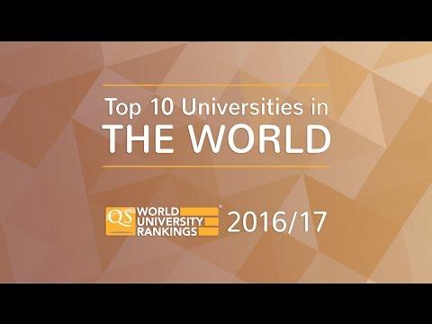 Top 10 Universities in the World 2016/17