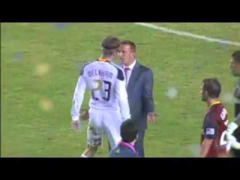David Beckham pelea con entrenador de Real Salt Lake Clavosuelto