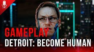Androides fazem escolhas? Vem ver no gameplay de Detroit: Become Human! - AO VIVO às 19h