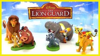 LION GUARD Toys New Disney Junior Playset Kion Bunga Fuli and More