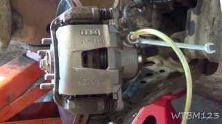 Stuck Brake Caliper or Bad Rubber Brake Line