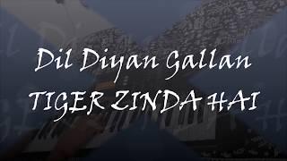 Dil Diyan Gallan Keyboard Cover Tiger Zinda Hai Salman Khan Katrina Kaif Atif Aslam