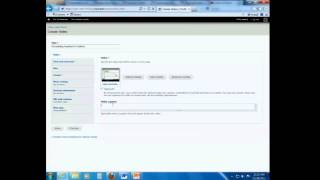 Creating a Video Page and Inserting the Transcript
