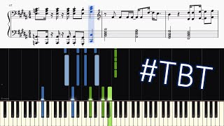 Toto - Africa - Piano Tutorial + SHEETS | #tbt