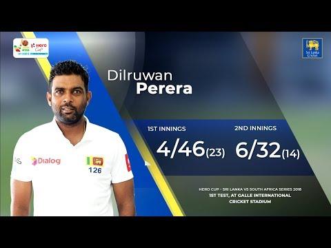 Xxx Mp4 Dilruwan Perera S 10 Wicket Match Haul Against South Africa 3gp Sex