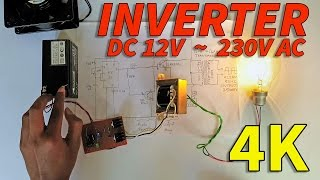 How to Make Inverter at Home - Very Easy to make!