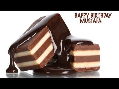 Mustafa  Chocolate - Happy Birthday