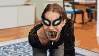 She-VENOM - Face changing (Test Effect)