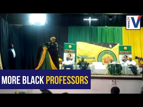 ANC NEC member Nkosazana Dlamini Zuma speaks at the ANCYL's Free Education dialogue