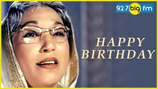 Lalita Pawar Birthday Special   Big Fm