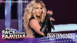 "Your Face Sounds Familiar: Denise Laurel as Beyoncé - ""Crazy In Love"""