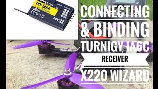Binding & Connection iA6C receiver to Wizard X220 ibus plus battery telemetry