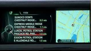 iDrive 4 Navigation Interactive Map | BMW Genius How-To
