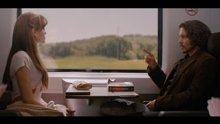 Angelina Jolie in The Tourist 2010   How do you flirting with a guy (movie scene)