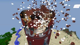 Let's Show Minecraft 1.6.2 Piston House Dose Part 6 + Download