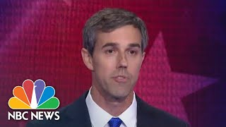 Beto O'Rourke Shares Economy Thoughts In English And Spanish | NBC News