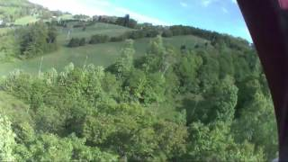 Zip Line on Canopy Tour at Seven Springs