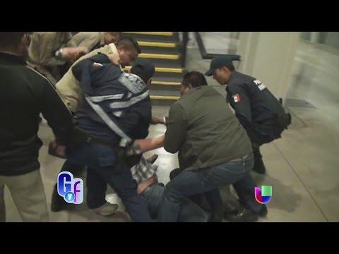 Impresionantes imágenes de una pelea durante un concierto de Banda MS