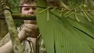 Building a shelter in the Rainforest - Ray Mears Extreme Survival - BBC