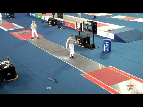 Xxx Mp4 15 03 29 T64 SEO Jiyeon KOR Vs LEE Rajin KOR 2015 Seoul Fencing WS MS Grand Prix 3gp Sex