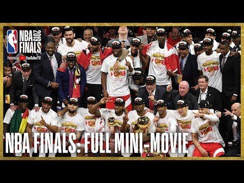 2019 NBA Finals FULL Mini Movie Raptors Defeat Warriors In 6 Games