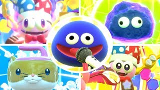 Kirby Star Allies - All Friends Abilities (DLC Included)