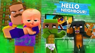 Minecraft - BOSS BABY POOS HIS PANTS!!