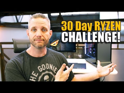 Video Editing on the Ryzen 1800X 30 Day Ryzen Challenge