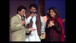Moin Akhter with Fazila & Qaiser Khan (Dhanak TV USA)