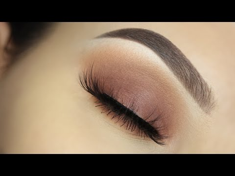 Everyday Warm Matte Eyeshadow Tutorial!