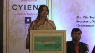 TEPC India Telecom 2017 - HE Ms. Begum Tarana Halim