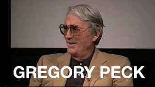 Gregory Peck recalls Harper Lee on the set of TO KILL A MOCKINGBIRD