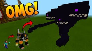 WITHERBUSTER VS WITHER DEMON AND WITHER STORM   EPIC MODS   Minecraft Pocket Edition