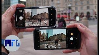 iPhone X vs Note 8: In-Depth Camera Test Comparison