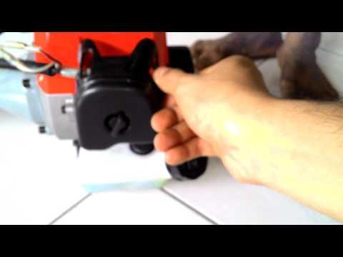 Cara menghidupkan mesin power weeder cmc 330