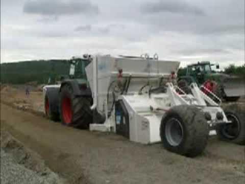 Maszyny drogowe budowlane stabilizatory gruntu rozsypywarki STEHR ciągniki traktory FENDT