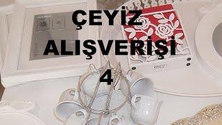 Çeyiz Alışverişi #4 (İkea, Emsan, Kütahya Porselen, Gold Master)