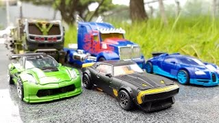 Transformers Movie 4 Bumblebee Optimus Prime Hound Crosshairs Drift  Robot Car Toys 트랜스포머 장난감 변신동영상