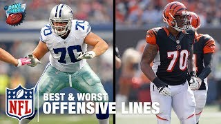 The Best and Worst Offensive Lines Heading into the 2017 Season | DDFP | NFL