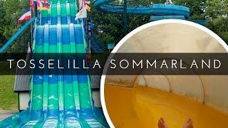 COOL OUTDOOR WATER PARK IN SWEDEN! Tosselilla Sommarland (Slides POV)