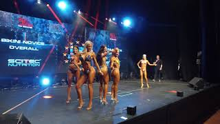 Bikini (Novice) Overall - Iron rebel Show 2018 - Action Cam