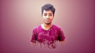 Photoshop tutorials | Smudge Painting Effect Photoshop Tutorial